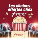 Les chaînes offertes chez Free